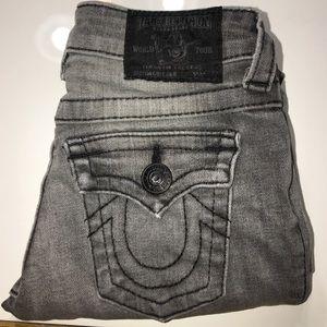 Authentic True Religion boys signature jeans sz 7